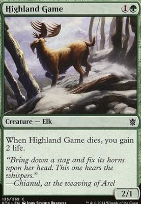 Khans of Tarkir: Highland Game