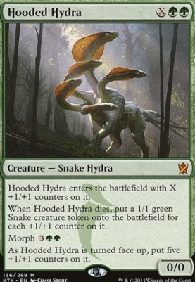 Khans of Tarkir: Hooded Hydra