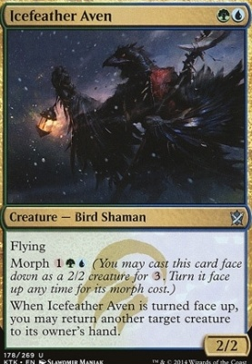 Khans of Tarkir Foil: Icefeather Aven