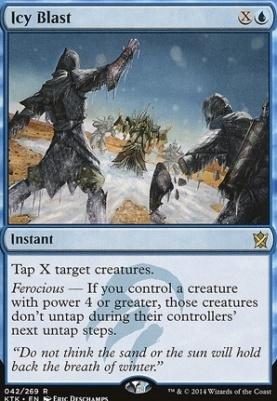 Khans of Tarkir: Icy Blast
