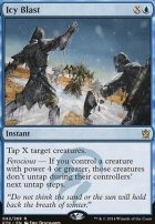 Khans of Tarkir: Icy Blast