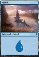 Khans of Tarkir: Island (254 A)