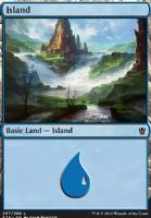 Khans of Tarkir: Island (257 D)