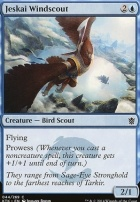 Khans of Tarkir Foil: Jeskai Windscout