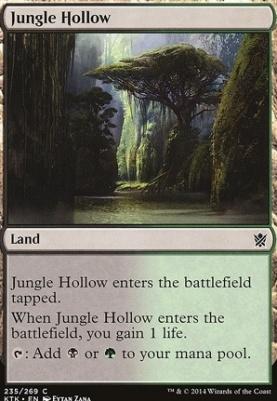Khans of Tarkir: Jungle Hollow