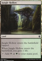Khans of Tarkir Foil: Jungle Hollow