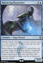 Khans of Tarkir Foil: Kheru Spellsnatcher