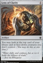 Khans of Tarkir Foil: Lens of Clarity