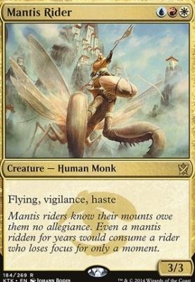 Khans of Tarkir: Mantis Rider