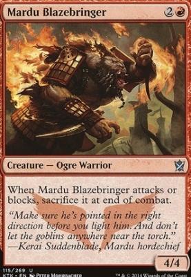 Khans of Tarkir Foil: Mardu Blazebringer
