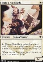Khans of Tarkir Foil: Mardu Hateblade