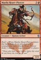 Khans of Tarkir Foil: Mardu Heart-Piercer