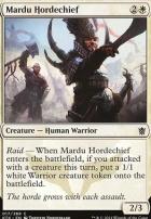 Khans of Tarkir Foil: Mardu Hordechief