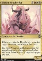 Khans of Tarkir Foil: Mardu Roughrider