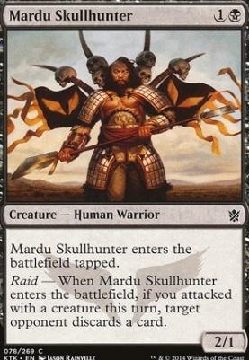 Khans of Tarkir Foil: Mardu Skullhunter