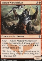 Khans of Tarkir Foil: Mardu Warshrieker