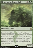 Khans of Tarkir Foil: Meandering Towershell