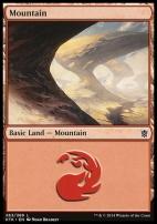 Khans of Tarkir: Mountain (263 B)
