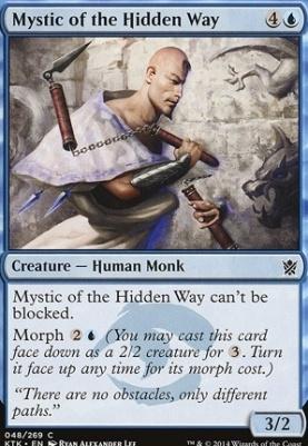 Khans of Tarkir Foil: Mystic of the Hidden Way