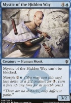 Khans of Tarkir Foil: Mystic of the Hidden Way