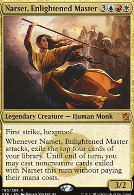 Khans of Tarkir: Narset, Enlightened Master