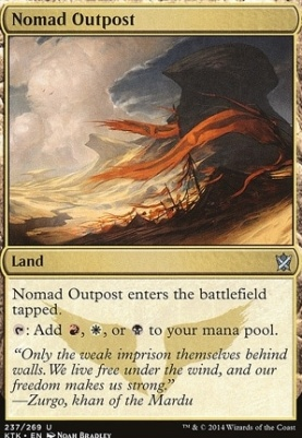 Khans of Tarkir: Nomad Outpost