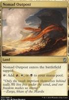 Khans of Tarkir Foil: Nomad Outpost