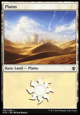 Khans of Tarkir: Plains (251 B)