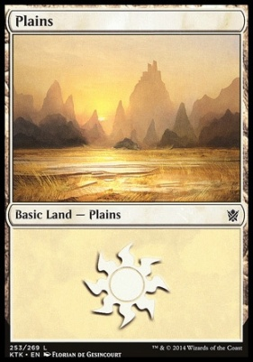 Khans of Tarkir: Plains (253 D)
