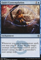 Khans of Tarkir Foil: Quiet Contemplation
