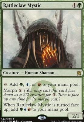Khans of Tarkir: Rattleclaw Mystic