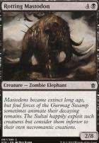 Khans of Tarkir Foil: Rotting Mastodon