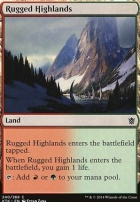 Khans of Tarkir: Rugged Highlands