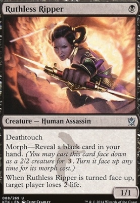 Khans of Tarkir Foil: Ruthless Ripper