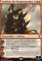 Khans of Tarkir: Sarkhan, the Dragonspeaker
