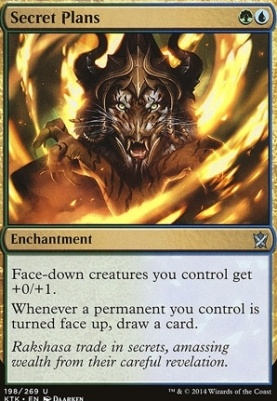 Khans of Tarkir Foil: Secret Plans