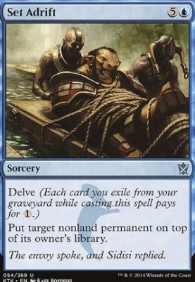 Khans of Tarkir Foil: Set Adrift