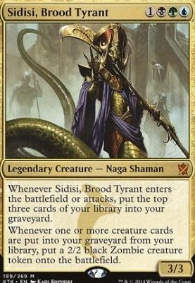 Khans of Tarkir: Sidisi, Brood Tyrant