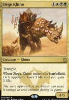 Khans of Tarkir: Siege Rhino