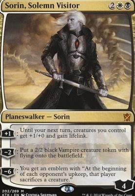 Khans of Tarkir: Sorin, Solemn Visitor