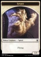 Khans of Tarkir: Spirit Token