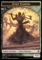 Khans of Tarkir: Spirit Warrior Token