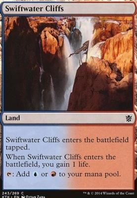 Khans of Tarkir: Swiftwater Cliffs