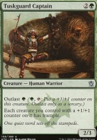Khans of Tarkir Foil: Tuskguard Captain