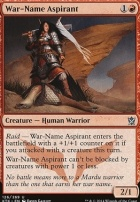 Khans of Tarkir Foil: War-Name Aspirant