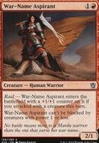 Khans of Tarkir: War-Name Aspirant