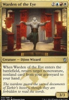 Khans of Tarkir Foil: Warden of the Eye