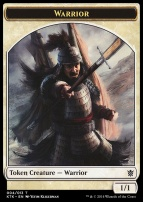 Khans of Tarkir: Warrior Token (Yefim Kligerman)