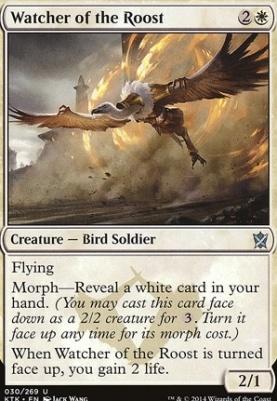 Khans of Tarkir: Watcher of the Roost
