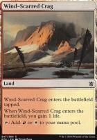 Khans of Tarkir: Wind-Scarred Crag